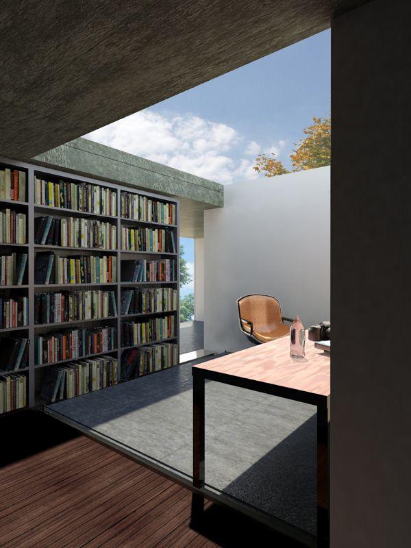 Rem koolhaass maison bordeaux by tom goodliffe architecture 01 rem koolhaas workspace - Maison de l architecture bordeaux ...
