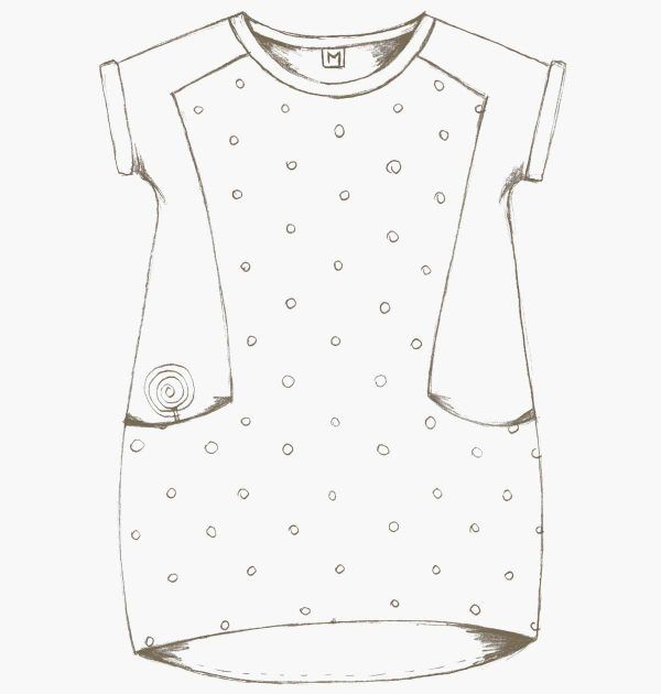 the nore dress and t shirt sewing pattern kinder kleider