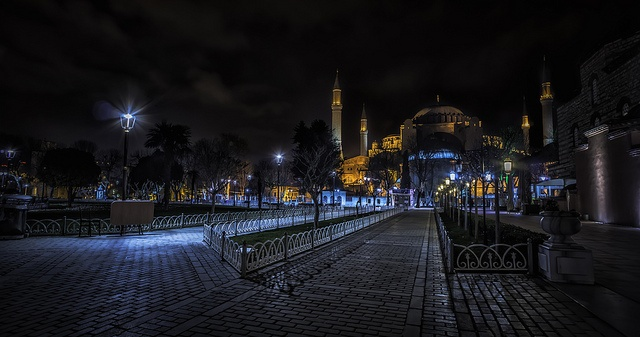 Sleepless Night in Istanbul HDR