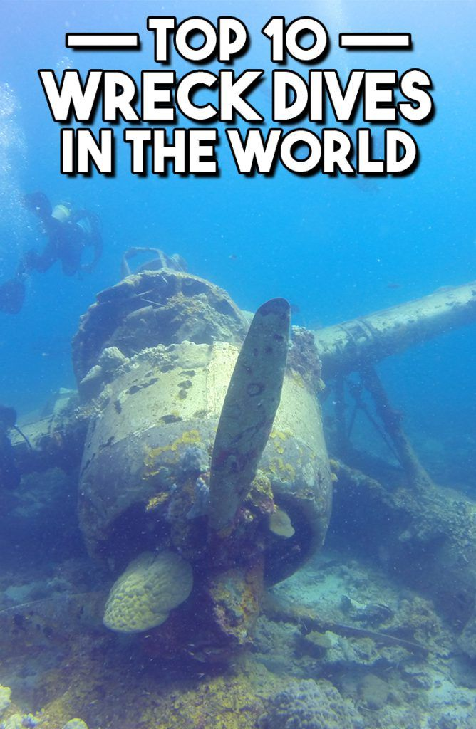 Top 10 Wreck Dives In The World - Travel & Pleasure