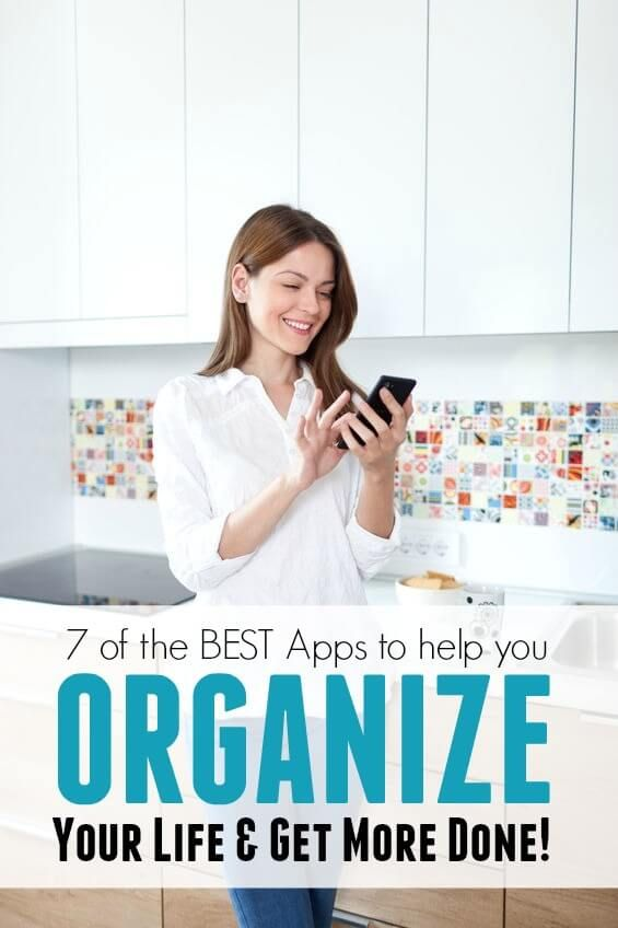 The 7 Best Apps to help you Organize Your Life! Organization Tips for the New Year!