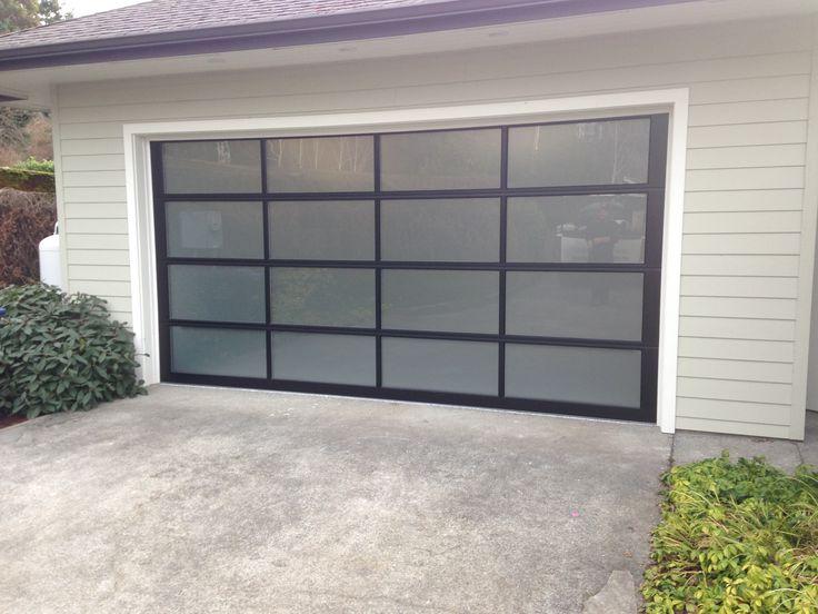 119 best images about glass garage doors on pinterest for Opaque garage door