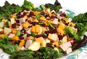 In addition to being a terrific menu item for a picnic, this great salad, filled with a variety of tasty, bite-sized morsels, can be enjoyed as a complete meal for a light supper.