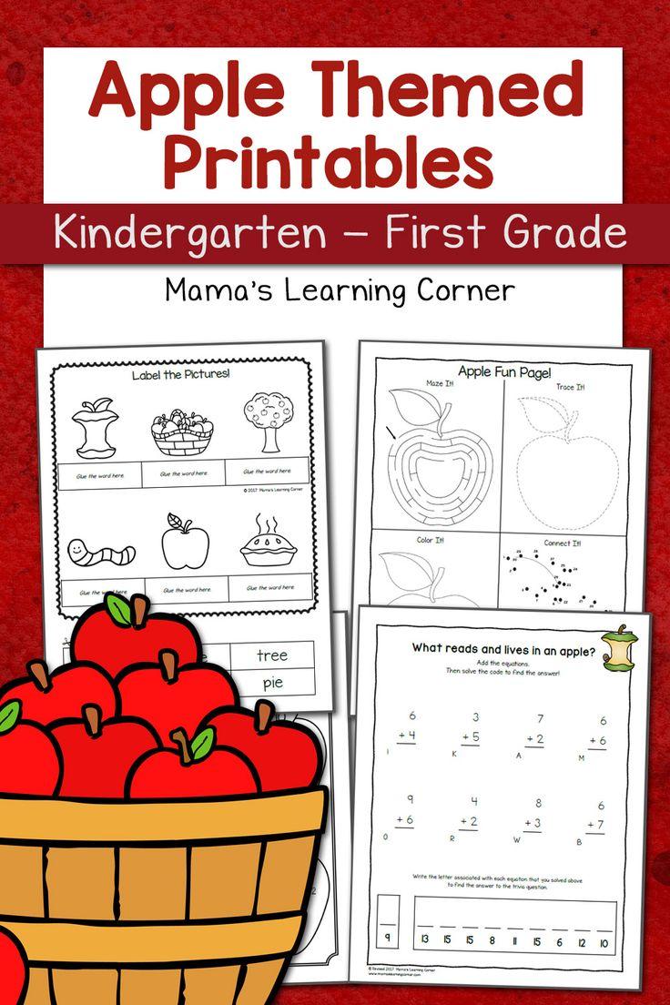 Best 25 worksheets for kindergarten ideas on pinterest apple worksheets for kindergarten first grade robcynllc Images
