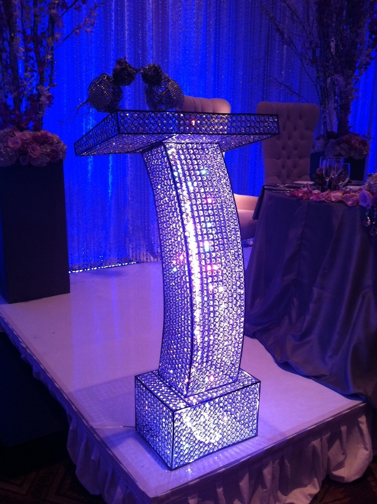 Gorgeous Crystal Podium Four Seasons Hotel Pinterest