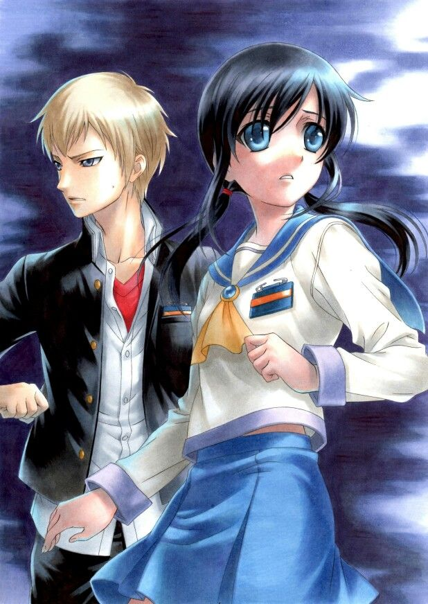 Ayushiki Corpse party, Anime, Rpg horror games