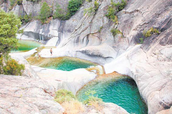 Cascades de Purcaraccia in Corsica