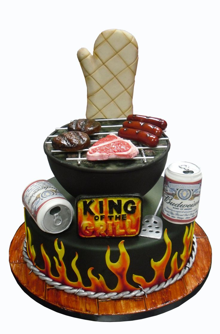 King of the grill on Cake Central