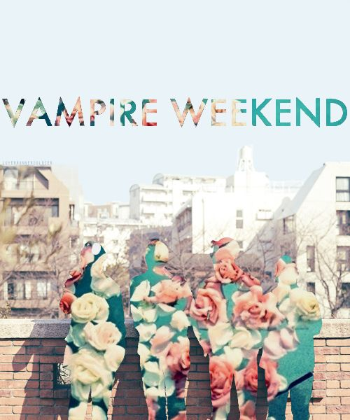 """I know I love you and you love the sea/ Wonder if the water contains a little drop little drop for me"" Vampire Weekend"