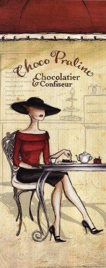 .mujer cafe