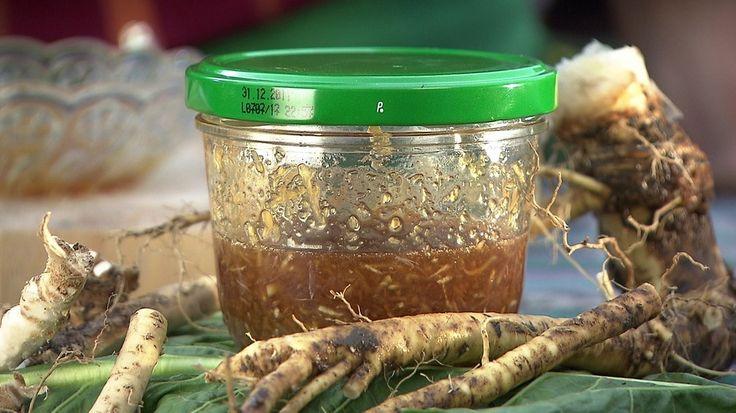 Meerrettich-Sirup gegen Erkältung