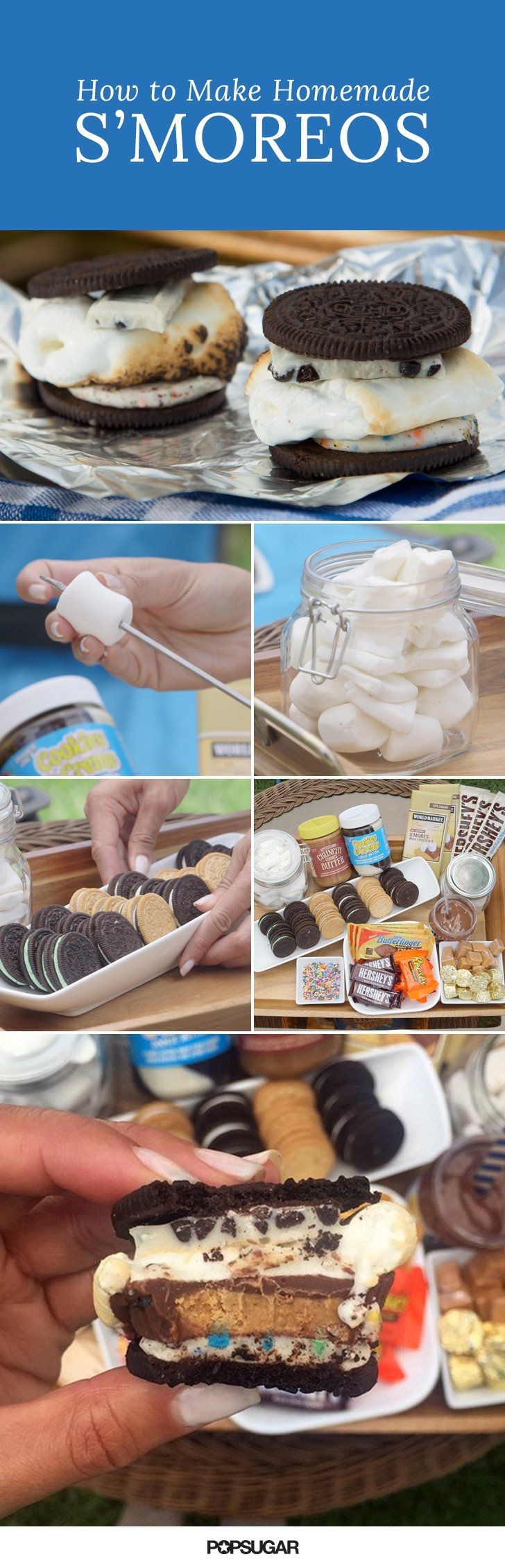 Graham crackers can and should be replaced in traditional s'mores to create s'mOreos.