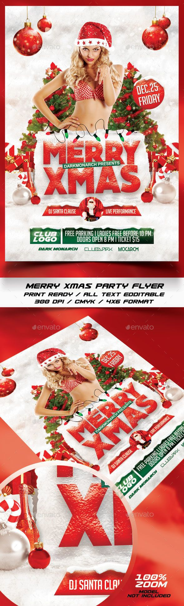 The 169 best christmas images on pinterest design web merry xmas party flyer template psd design xmas download http voltagebd Choice Image