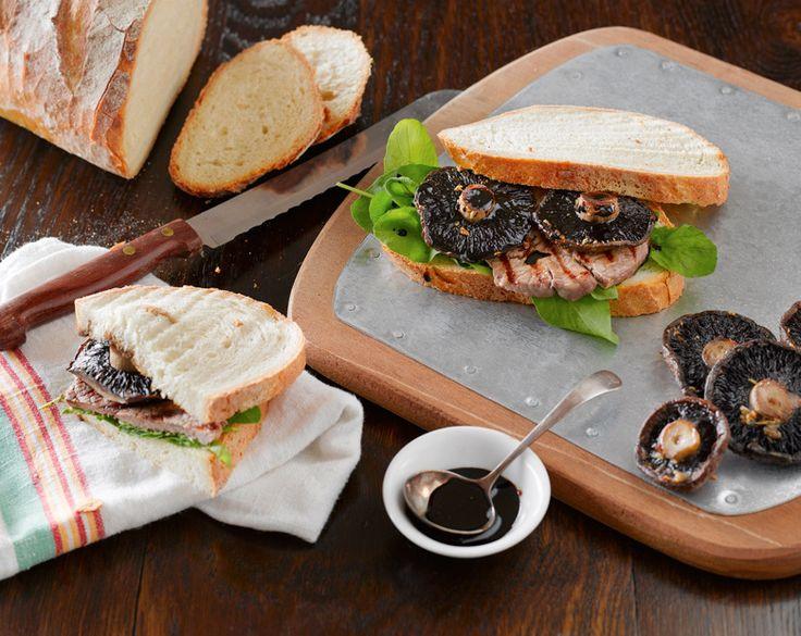 Balsamic Glazed Minute Steaks with Mushrooms Recipe | beef   lamb new zealand inc