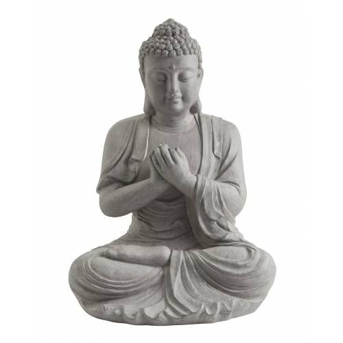 Estátua de Jardim Zen Bouddha - Altura 60 cm