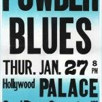 Poster for Los Angeles Show circa 1983