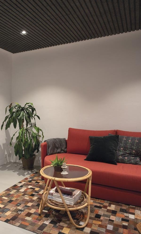 Superior Acoustics In Renovated Villa Acoustic Ceiling Panels