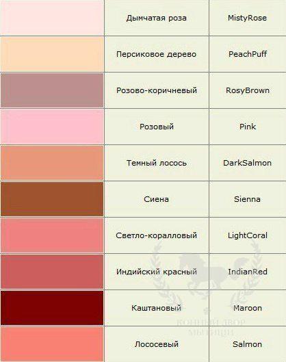 Gallery.ru / Фото #1 - Названия цветов и оттенков - tigerfairy