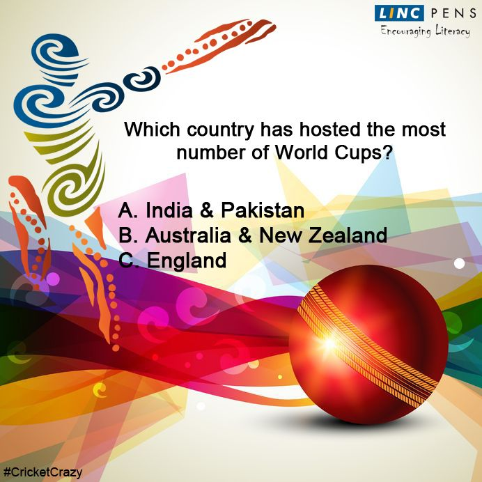 Question #23 ‪#‎CricketCrazy‬ ‪#‎WorldCup15‬