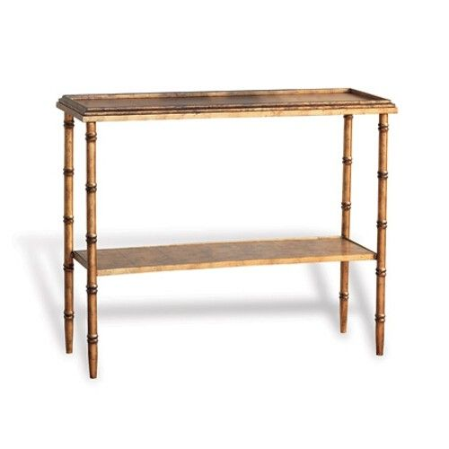 Material: Metal/Wood Classic Style Of Bamboo! Our Doheny Console Is Perfect  In