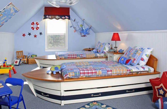 Chambre Sous Combles 35 Idees Pour Enfants Et Adolescents Deco