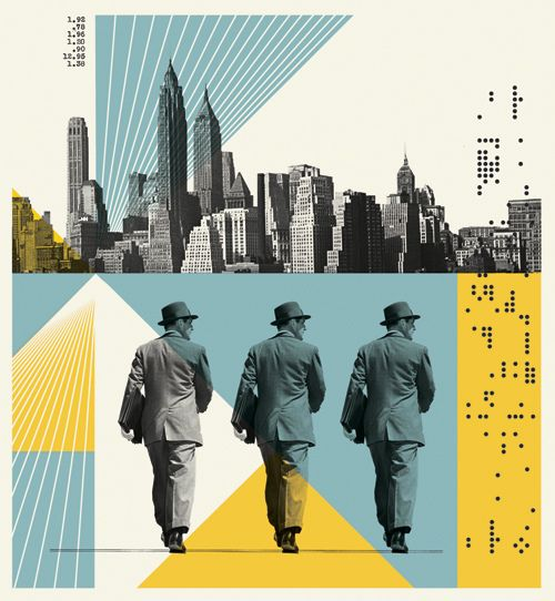 Editorial Illustration for Fortune Magazine: New York (Yes, New York!) is tech city.