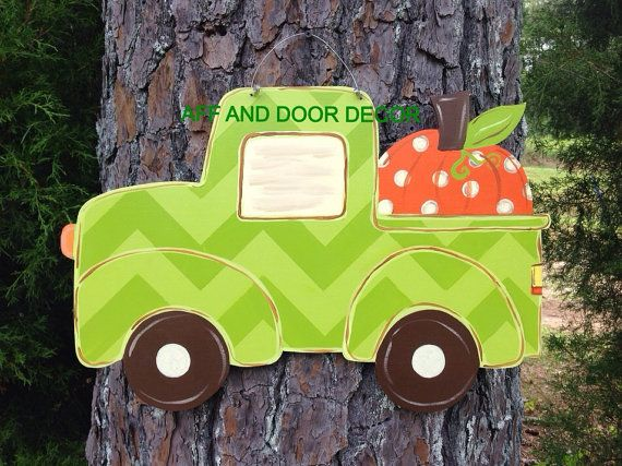 Fall door hangerfall Truck door by Furnitureflipalabama on Etsy, $30.00