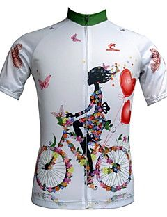 JESOCYCLING Women's Cycling Jersey Short Sleeve Spring And S... – USD $ 24.99