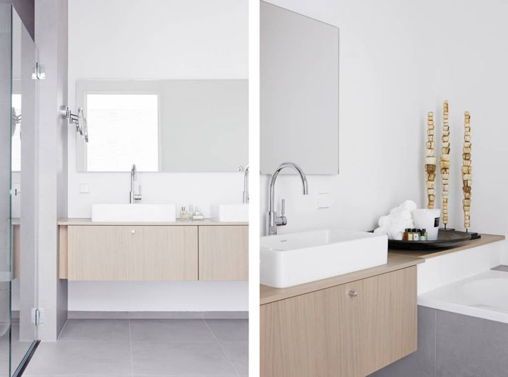 Vind afbeeldingen van moderne Badkamer: Appartement aan Zee. Ontdek de mooiste foto's & inspiratie en creëer uw droomhuis.