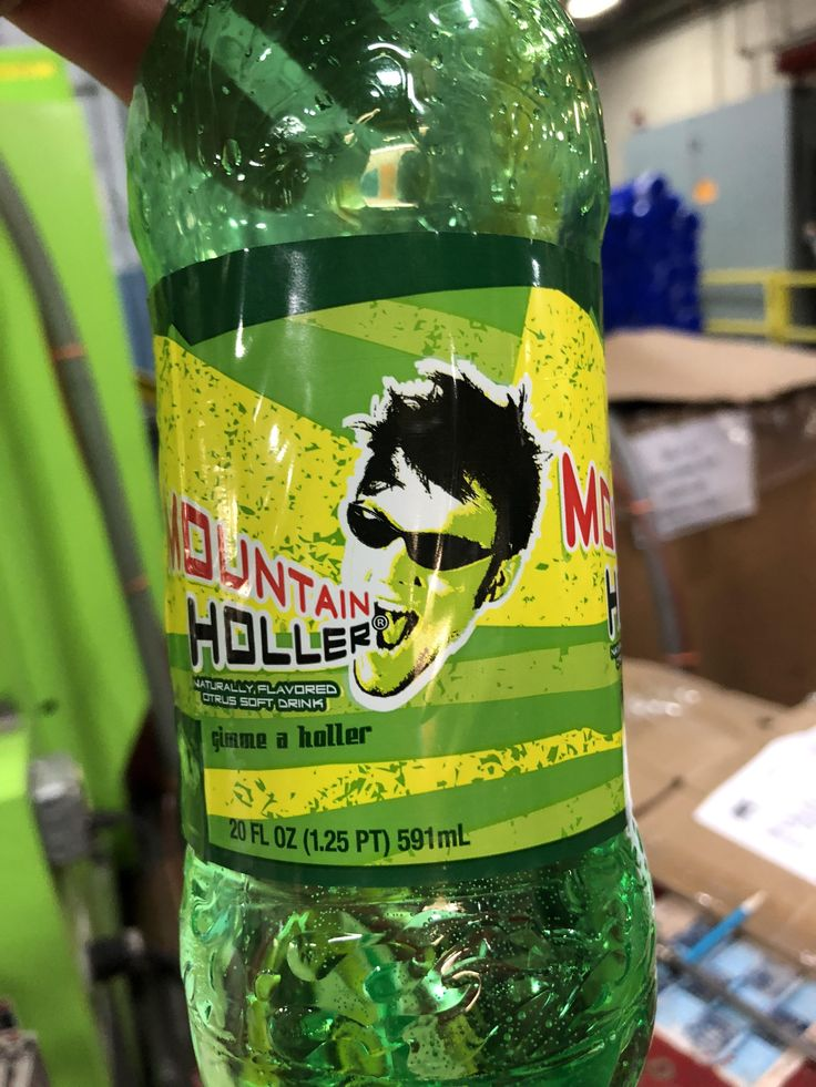 The guy on this generic Mountain Dew bottle looks oddly like a skinny Steve Harwell