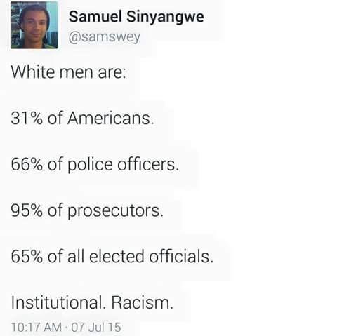 White men