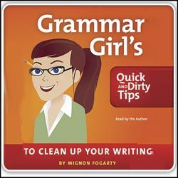 AWESOME way to teach grammar. TRULY. Kids love it. I vote it goes in the Grammar Canon.