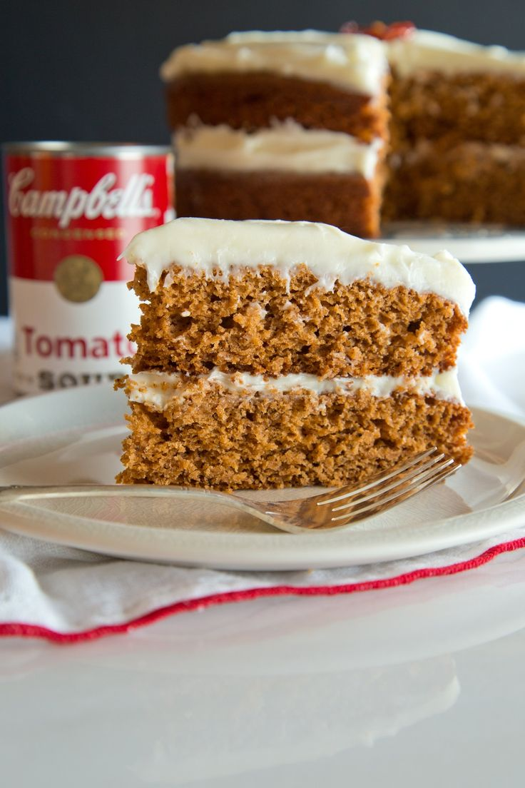 The Enduring Allure of Tomato Soup Cake — Food History