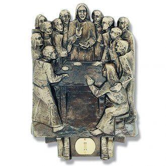 Cuadros estaciones Vía Crucis 14 piezas bronce | venta online en HOLYART