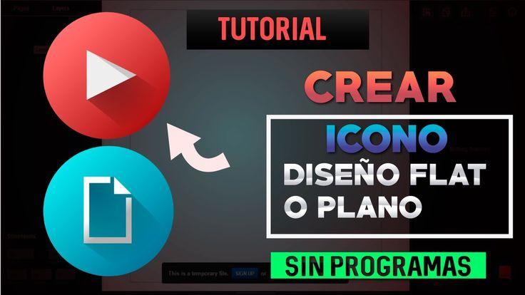 Tutorial Vectr Online | Crear Iconos Estilo Flat (Diseño plano) Sin Prog...