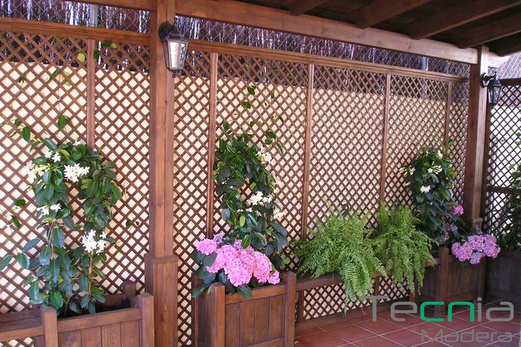 76 best porches y p rgolas de madera images on pinterest - Iluminacion de terrazas ...