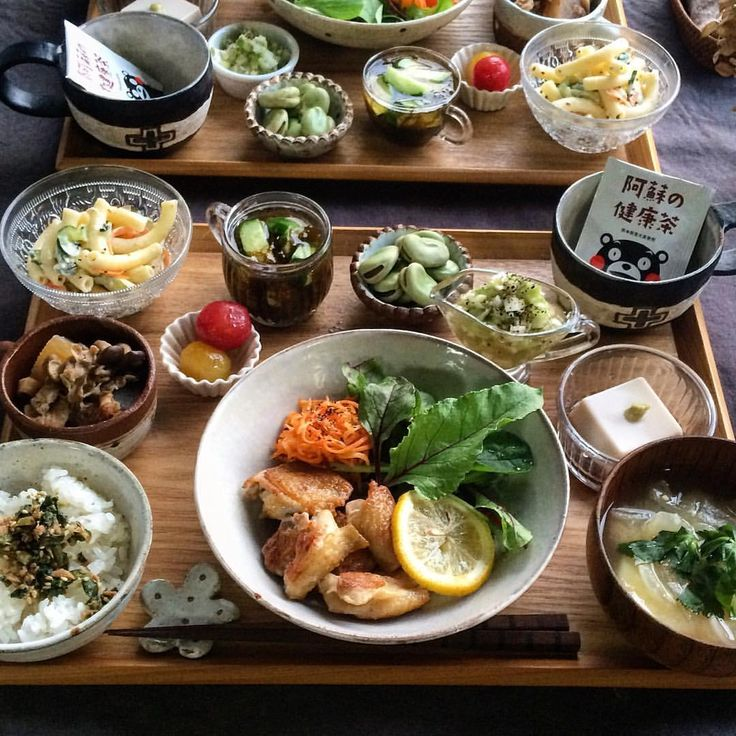 いいね!1,506件、コメント25件 ― fuchiさん(@fuchibiyori)のInstagramアカウント: 「2016.5.20 Fri. . 本日の #晩ごはん . 【鶏もも肉のねぎ塩だれ定食】 ・鶏もも肉のねぎ塩だれ レモン付 ・人参サラダとグリーンリーフ ・大根のスタミナ煮 ・マカロニサラダ…」