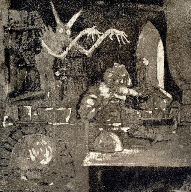 Josef Váchal - 'Alchemist' (1910)