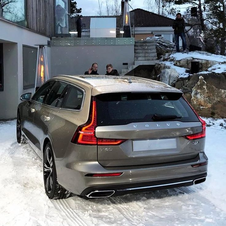 Birch Light Metallic Volvo V60 With Styling Kit: New And Late Model Images On Pinterest