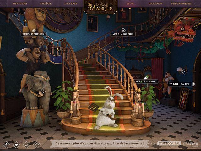 http://www.lemanoirmagique.fr/ via http://www.webdesigniac.com/