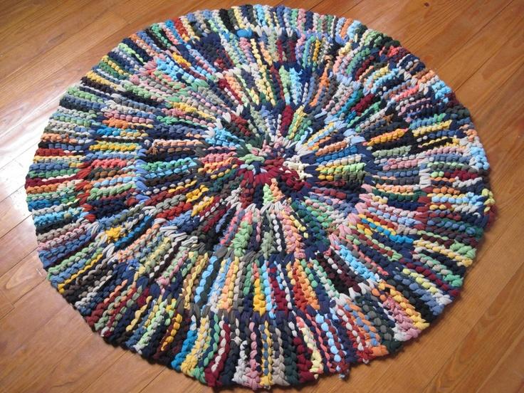 24 best Rag rugs images on Pinterest | Rag rugs, Weaving ...