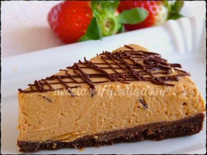 Cheese Cake de Dulce de leche sin cocción | Recetas de Cocina Argentina Fáciles y Para Todos los Gustos.
