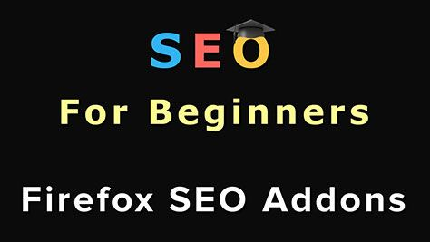 In this video you will learn step-by-step how to use Firefox SEO addons to improve your website's search engine ranking.