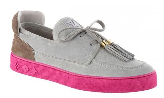 Google Image Result for http://www.yeezy2forsales.org/images/Kanye-West-Louis-Vuitton-Low-Shoes-Grey-Pink.jpg