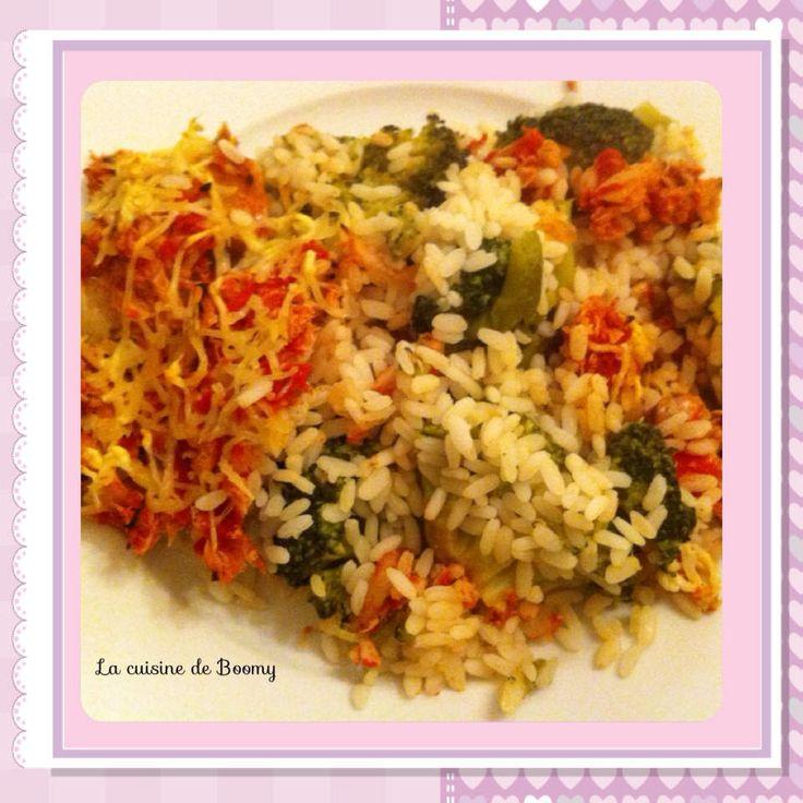Gratin au thon et au brocoli WW - La cuisine de Boomy