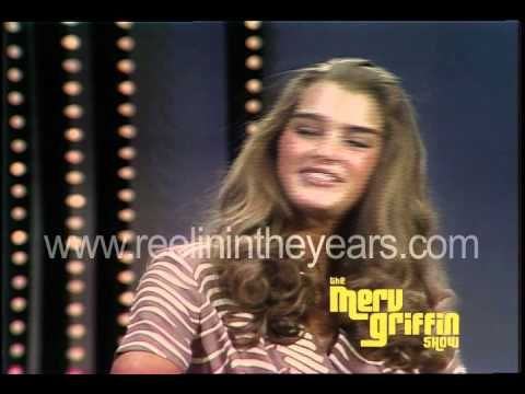 1980 Brooke Shields at age 15 interviewed by Merv Griffin
