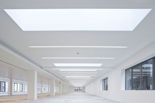 timber and barrisol ceilings  Google Search  Gym