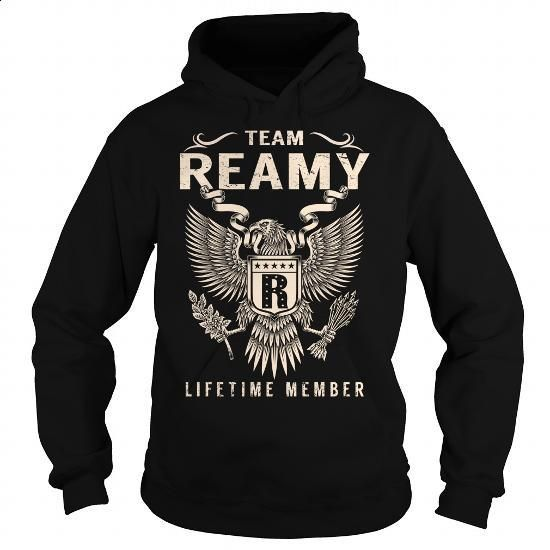 Team REAMY Lifetime Member - Last Name, Surname T-Shirt - #gift friend #cool…