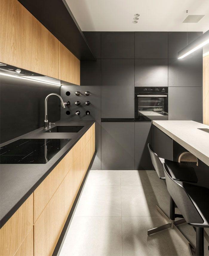 Compact Krakow Apartment By Hi Light Architects Jasa
