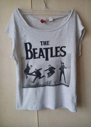 Kup mój przedmiot na #vintedpl http://www.vinted.pl/damska-odziez/koszulki-z-krotkim-rekawem-t-shirty/11108090-top-the-beatles-hm-rozmiar-35